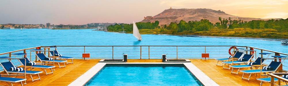 Itinerary One:5 Days Oberoi Zahra Nile Cruise from Luxor