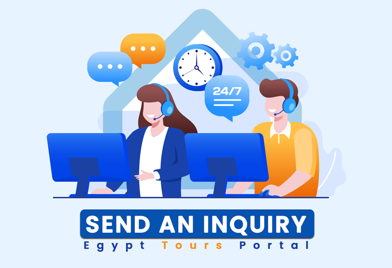 Send An Inquiry - Egypt Tours Portal