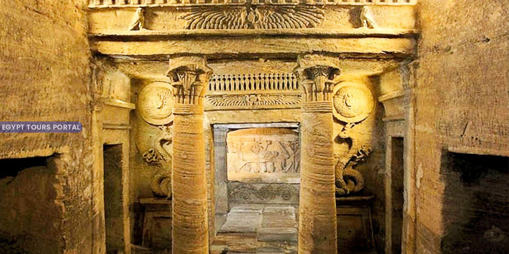 Catacombs of Kom El Shoqafa - Things to Do in Alexandria - Egypt Tours Portal