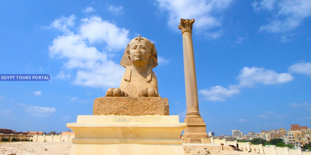 Pompey's Pillar - Things to Do in Alexandria - Egypt Tours Portal