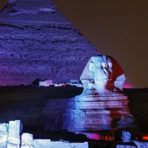 Sound & Light Show at Giza