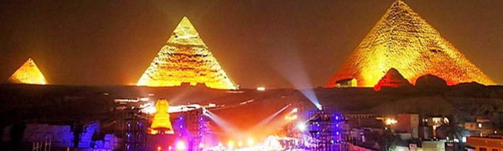 The Itinerary of Sound & Light Show At Giza