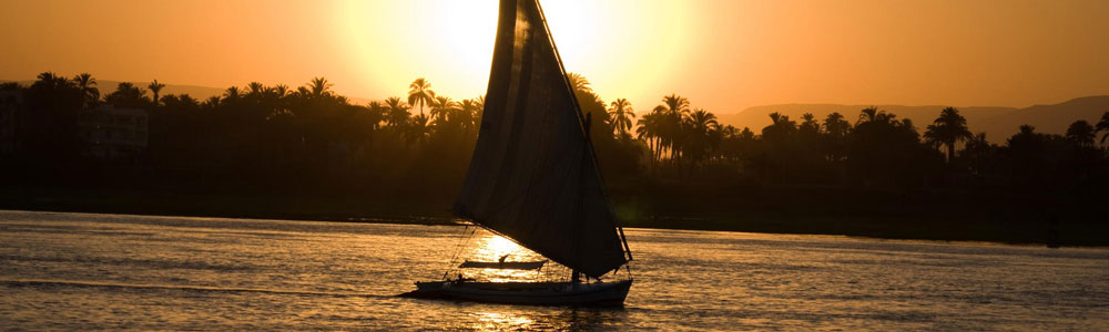 The Itinerary of Aswan Felucca Tour by Night
