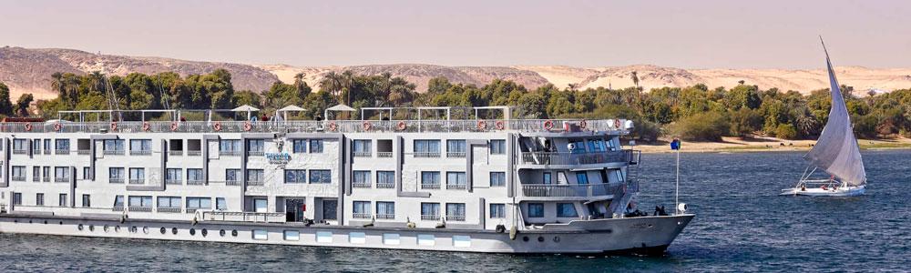 4 Days MS Tulip Nile Cruise from Aswan
