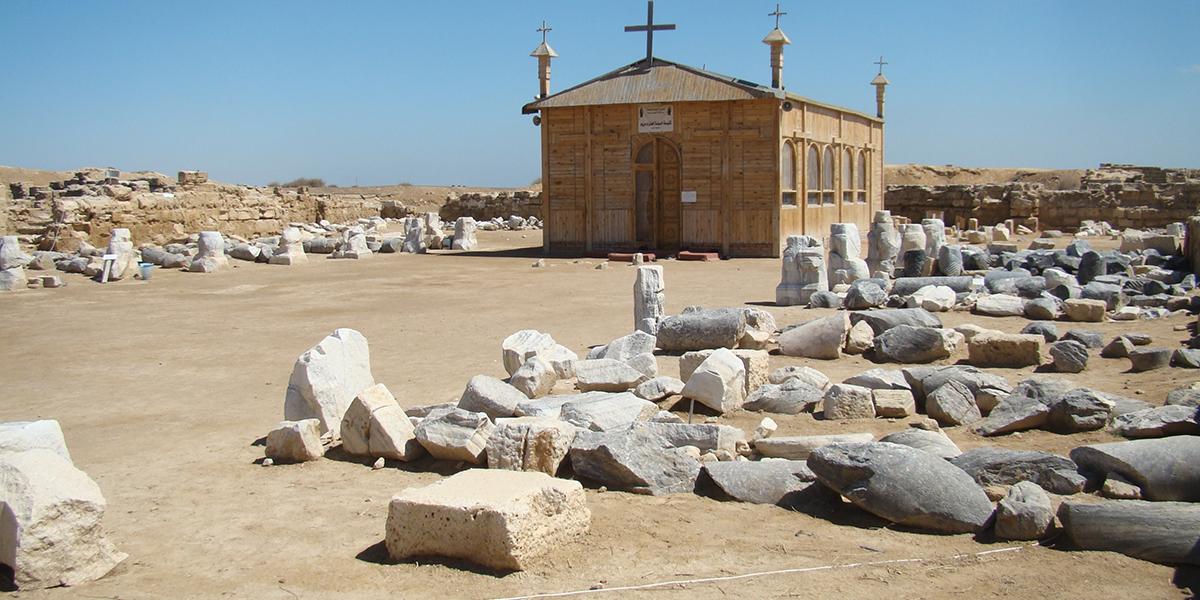 Abu Mena - Christian Monuments and Monasteries in Egypt - Egypt Tours Portal