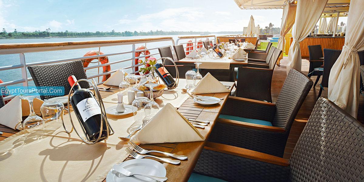 Luxury MS Acamar Nile Cruise - Egypt Tours Portal