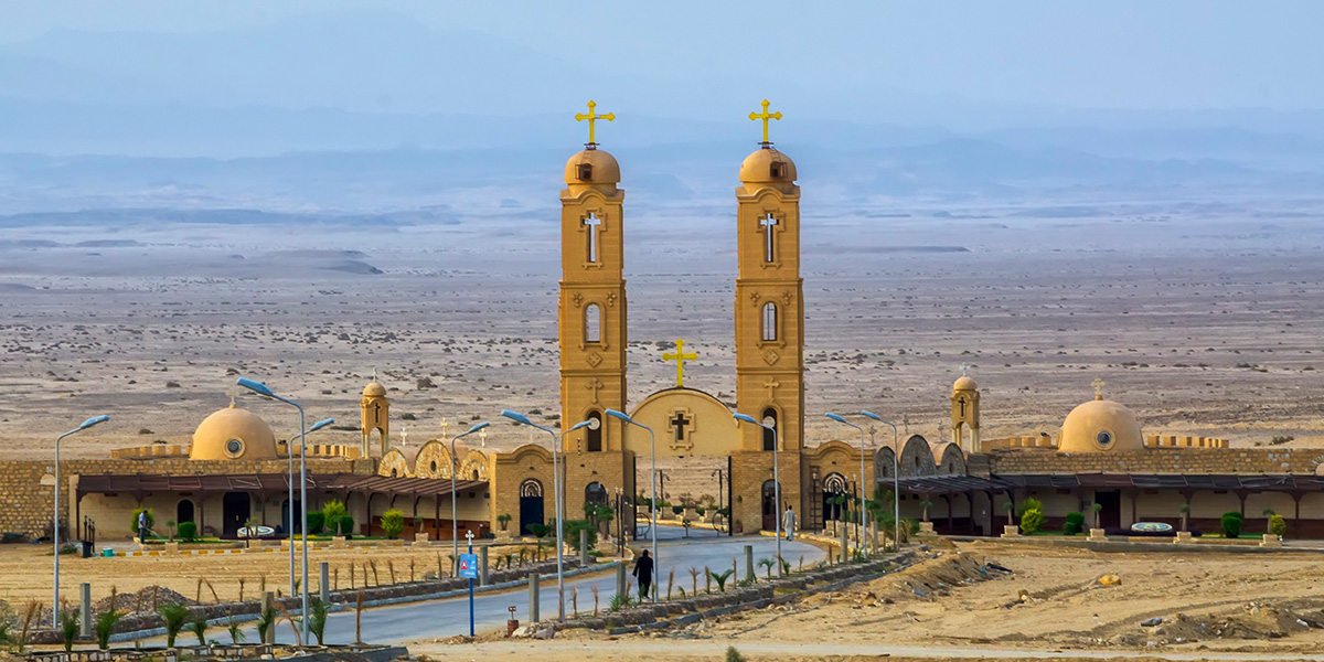 Monastery of Saint Anthony - Christian Monuments and Monasteries in Egypt - Egypt Tours Portal