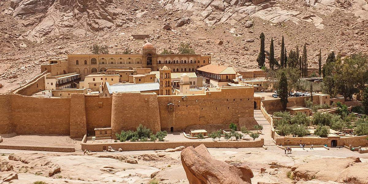 Saint Catherine monastery - Christian Monuments and Monasteries in Egypt - Egypt Tours Portal