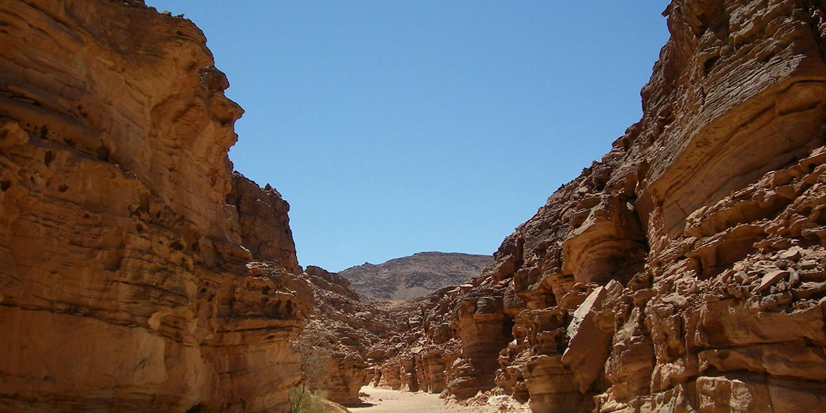 The Colored Canyon in Newiba - Hiking in Egypt - Egypt Tours Portal