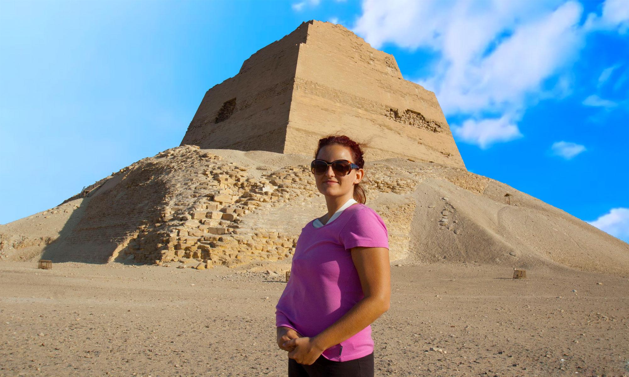 The Meidum Pyramid - Egypt Tours Portal