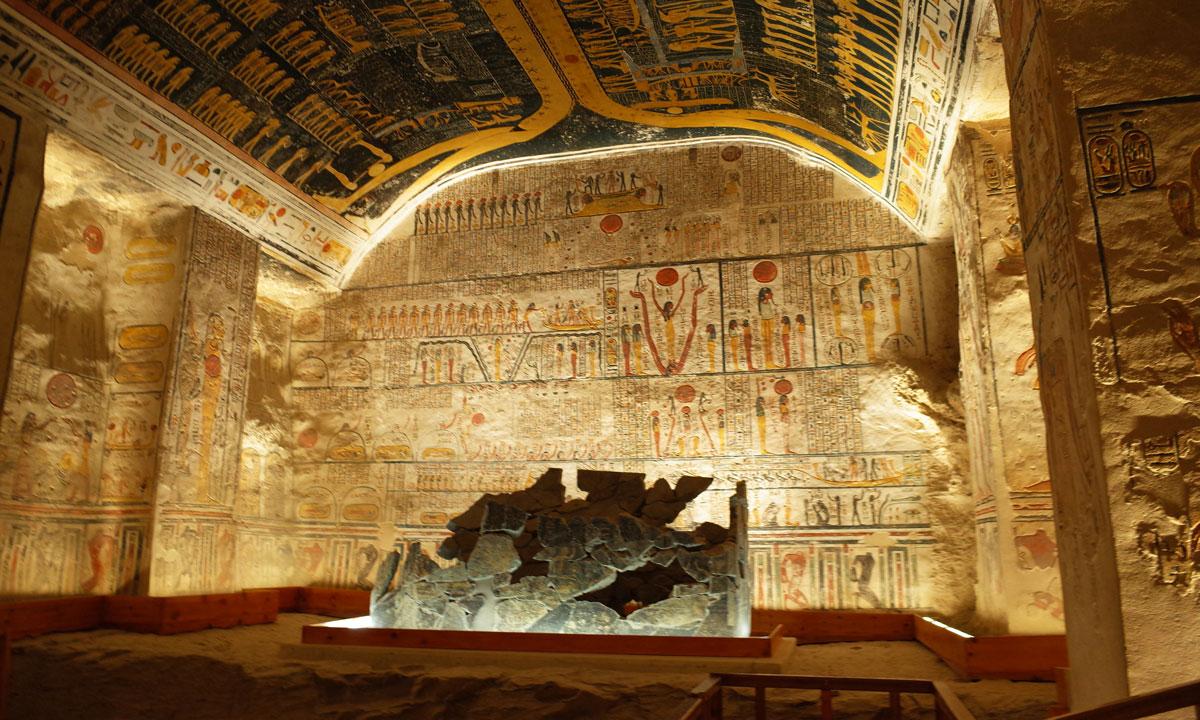 Tomb of Ramses IV - Egypt Tours Portal