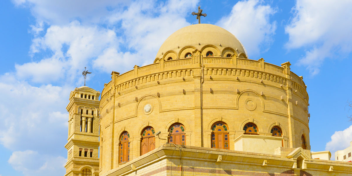 Church of Saint George - Christian Monuments and Monasteries in Egypt - Egypt Tours Portal