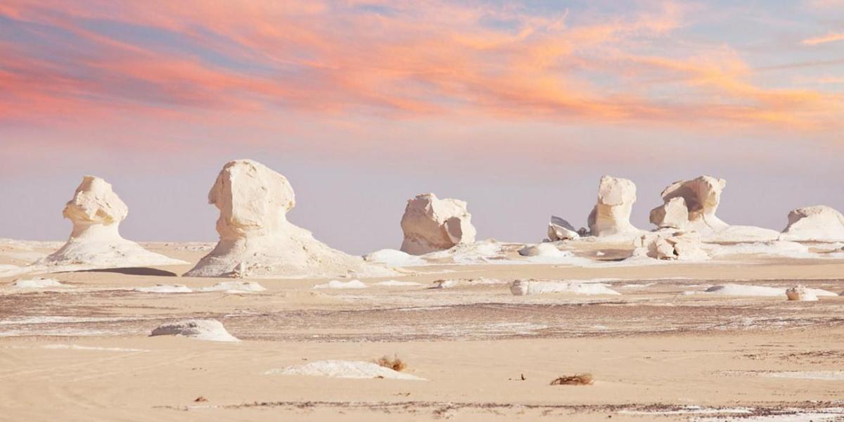 White desert- Egypt Desert Deserve to Discover for Adventure Travelers - Egypt Tours Portal