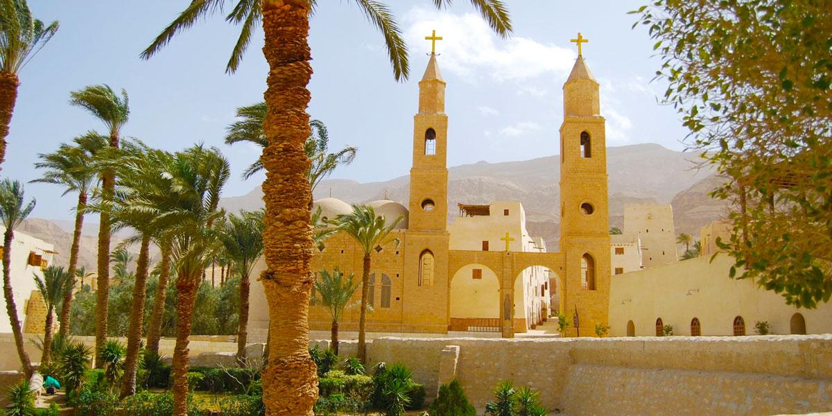 Attractions Inside St Antony Monastery - Egypt Tours Portal