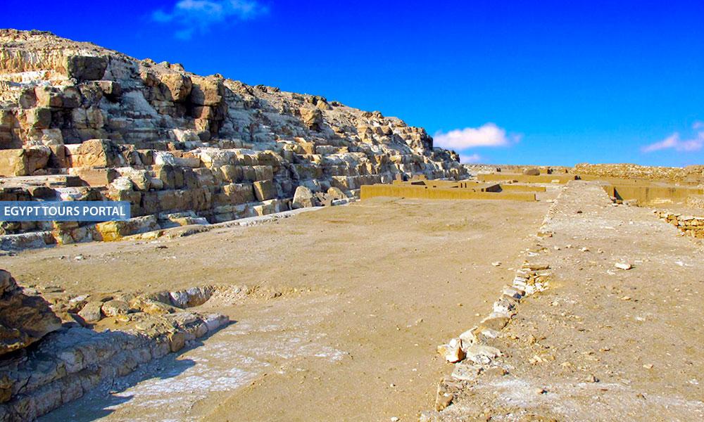 Architecture of Djedefre Pyramid - Egypt Tours Portal