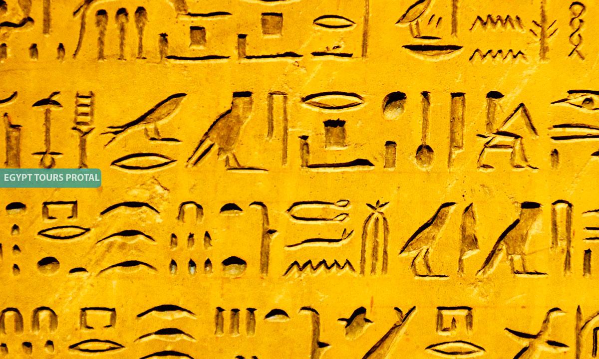 Hieroglyphics And Literature In Ancient Egypt Art - Egypt Tours Portal
