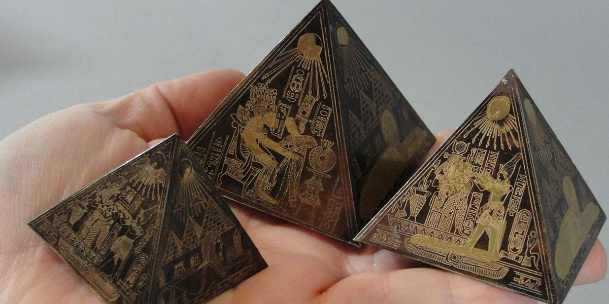 Mini Pyramids - 10 Traditional Souvenirs to buy in Egypt - Egypt Tours Portal