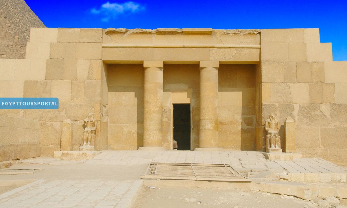 Mortuary Temple of King Khafre - Egypt Tours Portal