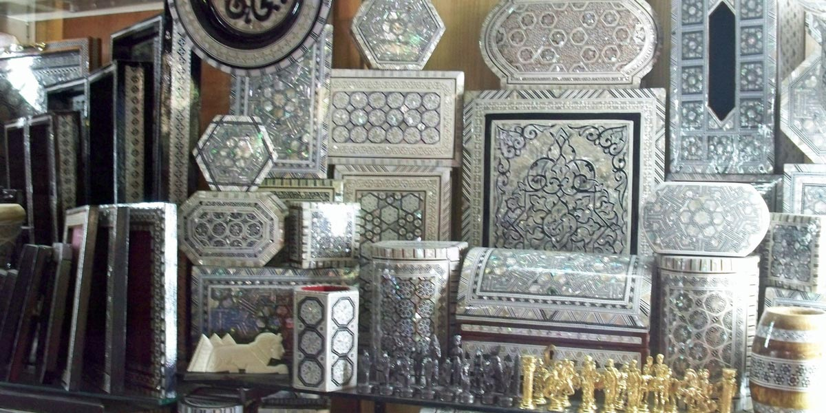 Geometric Pattern Boxes - 10 Traditional Souvenirs to Buy in Egypt - Egypt Tours Portal