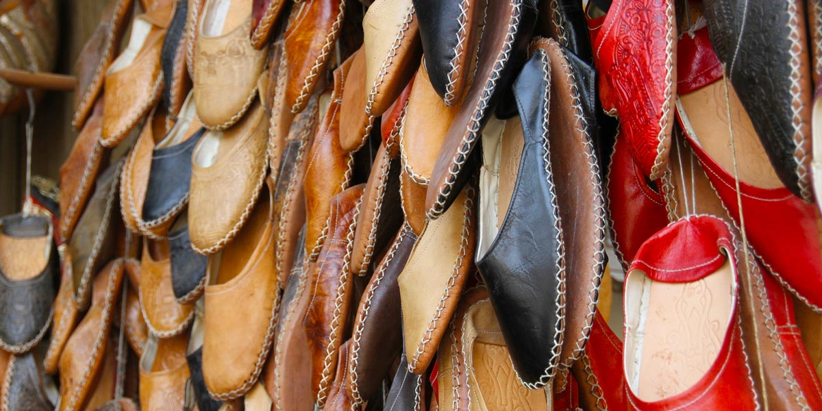 Leather Slippers - 10 Traditional Souvenirs to Buy in Egypt - Egypt Tours Portal